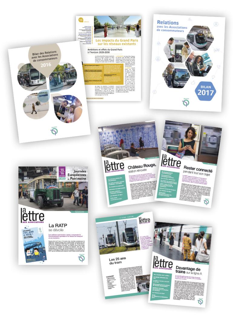 RATP Relations avec les Associations de Consommateurs